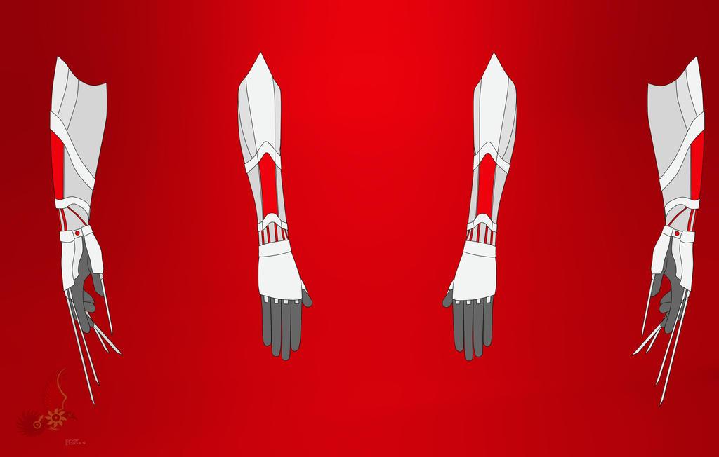 Rwby Oc Weapon God Hand By Shadeofgrimm On Deviantart