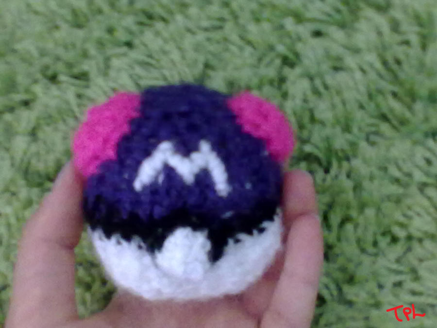 Amigurumi Master Ball : Amigurumi Master Ball by IgnisArdor on DeviantArt