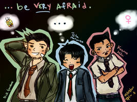 Ultimate Detective Trio. by IgnisArdor