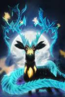 Deerygon - Fantasy Deer by SaifRygo