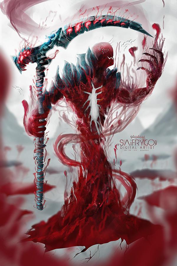 Blodynar - King of Blood by SaifRygo
