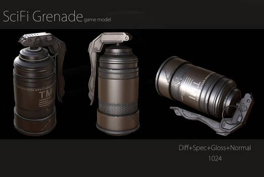 SciFi Grenade