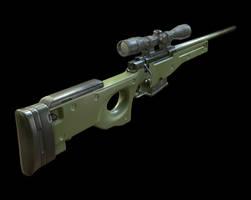 AWP Sniper by kenetand2
