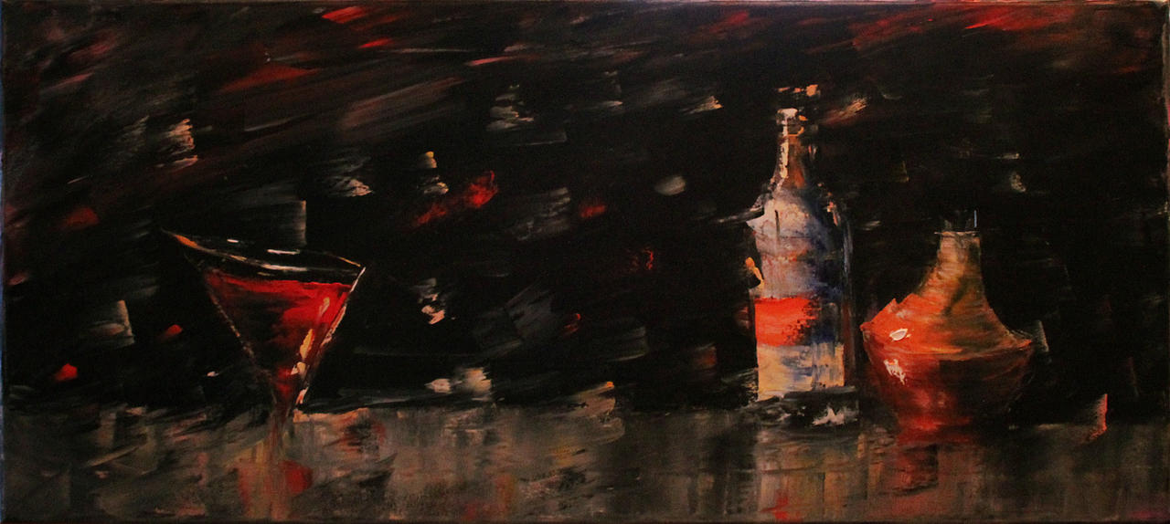 Distorted Bottles by Loo1Cool