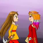 Alison vs Kasey pt. 1 by KaoruBlackstone1