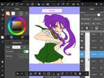 More comic process by KaoruBlackstone1