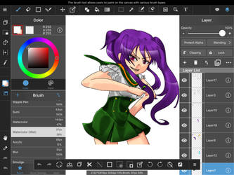 More Progress by KaoruBlackstone1