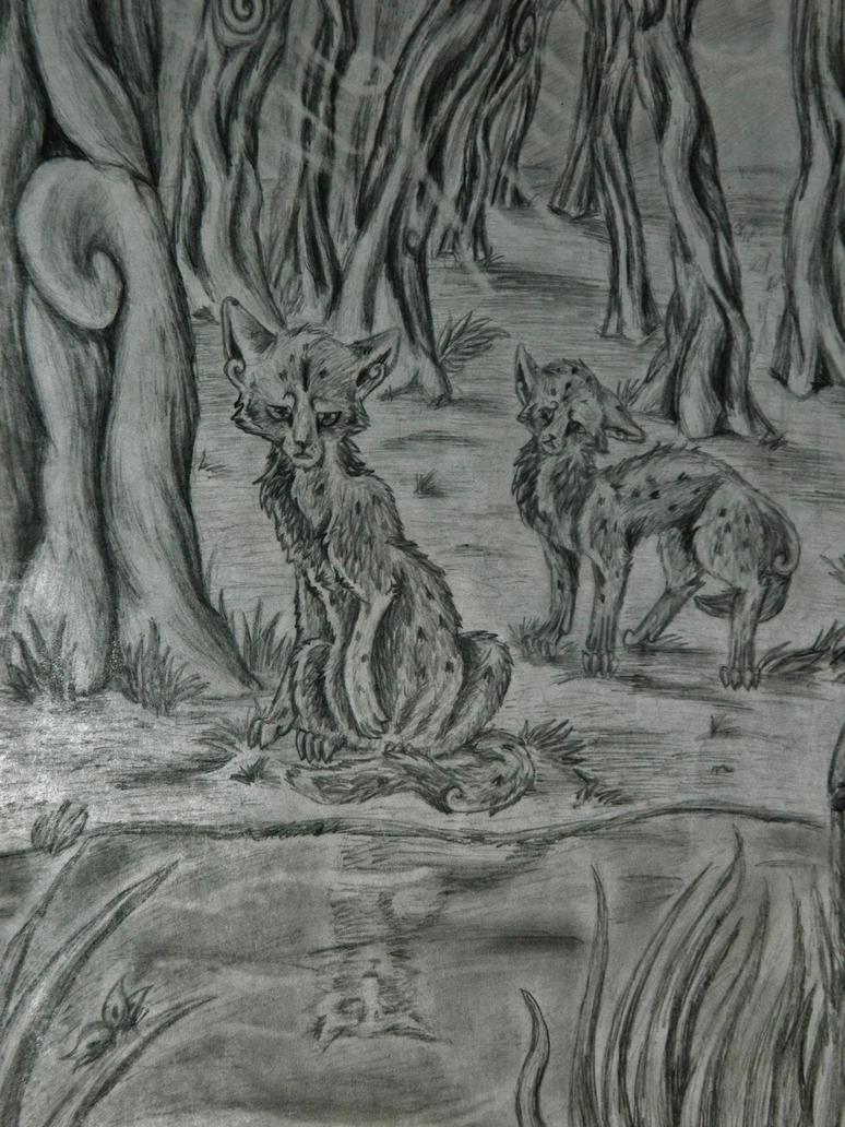 Ashfur and Ferncloud by Ashlynper