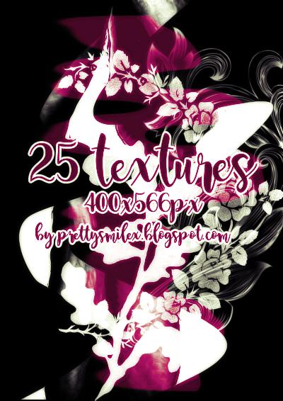 25 Textures pack#7 by prettysmilex