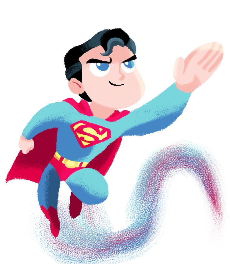 Tom Bancroft's Superman by MagicalMaxy
