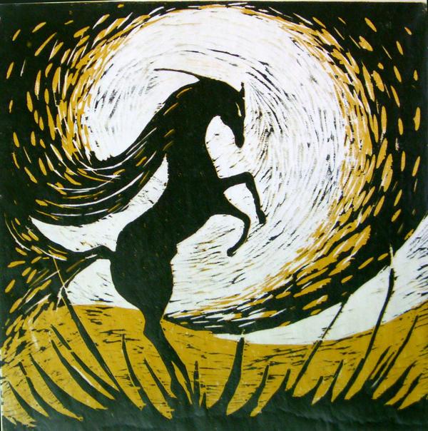 Arabian Horse by abd-ELRAHMAN