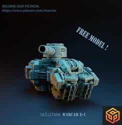 Battletank WARCAR X-1