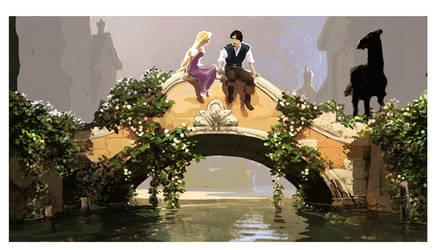 Rapunzel and Flynn Concept