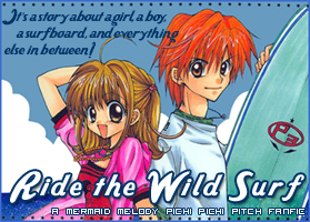 Ride the Wild Surf Banner by adrimarie