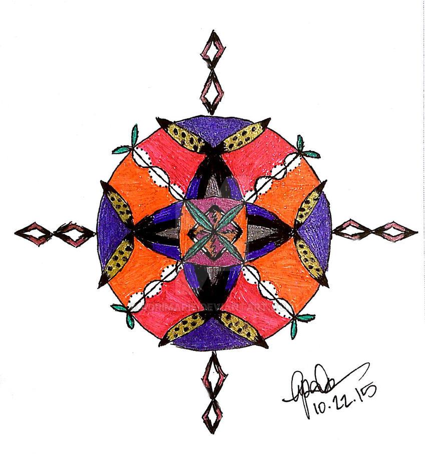 Zen Mandala (Zendala) I by adrimarie