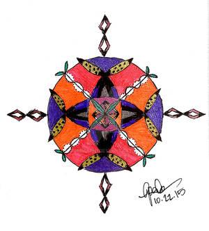 Zen Mandala (Zendala) I