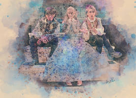 [MADKID] CinderEile: Haruto, Ella, and Tomoki