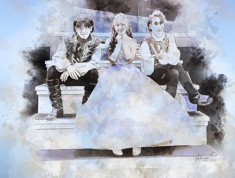 [MADKID] CinderEile: Haruto, Ella, and Tomoki II