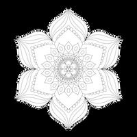 [Art Therapy Coloring] Zendala 1