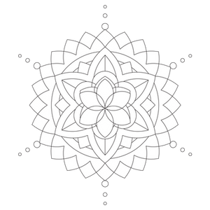 [Art Therapy Coloring] Zendala 2