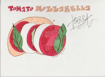 Tomato Mozzarella Toast