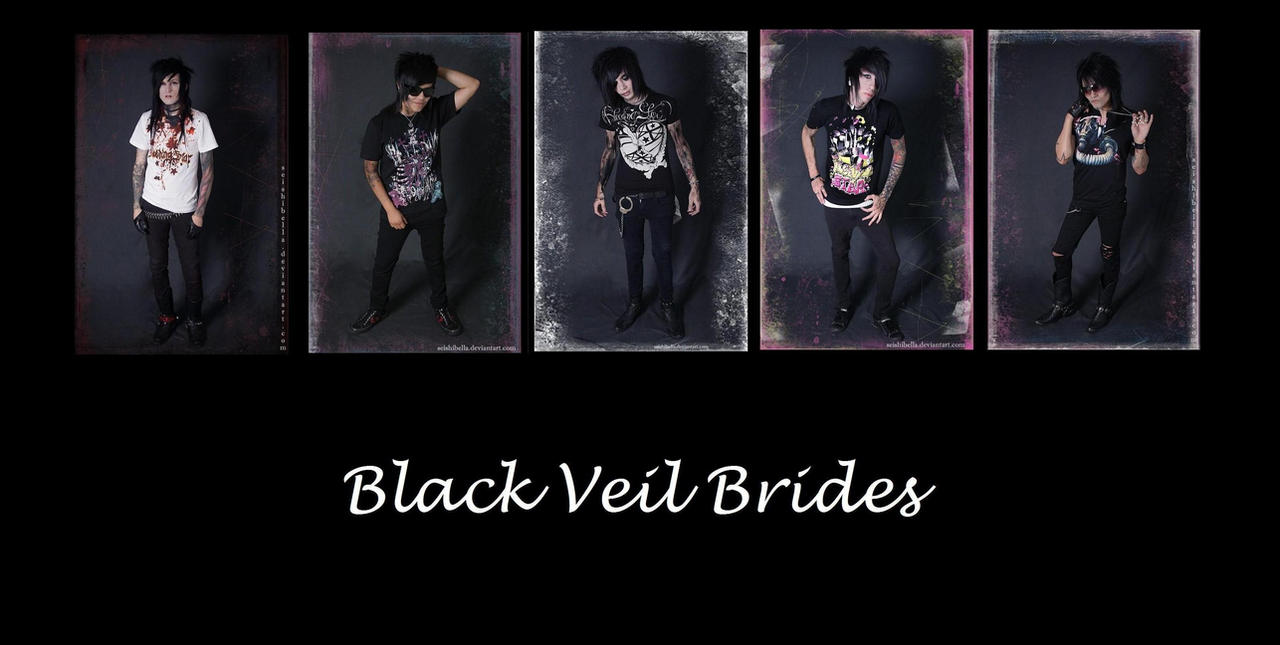 Black Veil Brides Wallpaper by Heni1
