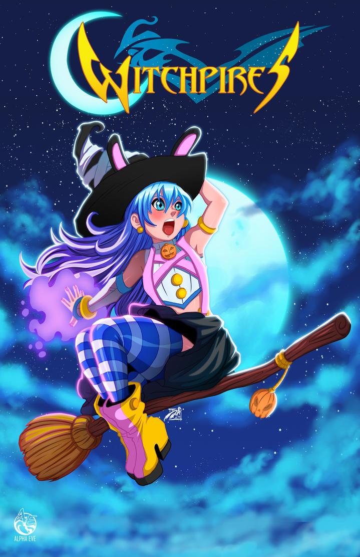Witch  Miyuki by Anderson-07