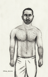 My beautiful boy with hairy chest by GuyDraws1