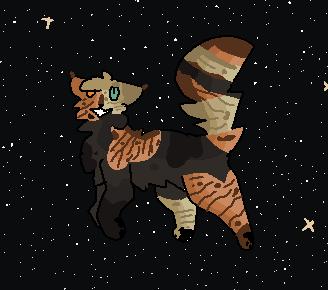 Space kitty by Snappysundog