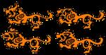 Stylized Druid Cat Forms