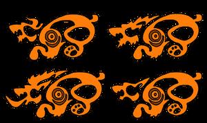 Stylized Druid Bear Forms