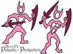 Stylized Prot Paladin - Blood Elf
