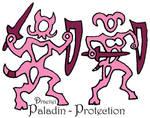 Stylized Prot Paladin - Draenei