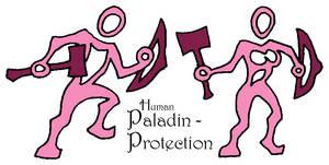 Stylized Prot Paladin - Human