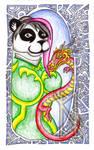 Lunar Panda by BurnsLikeIce