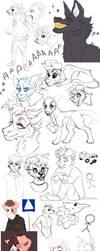 sketch dump by foxtret