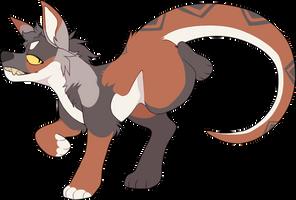 Wolfie2035 by foxtret