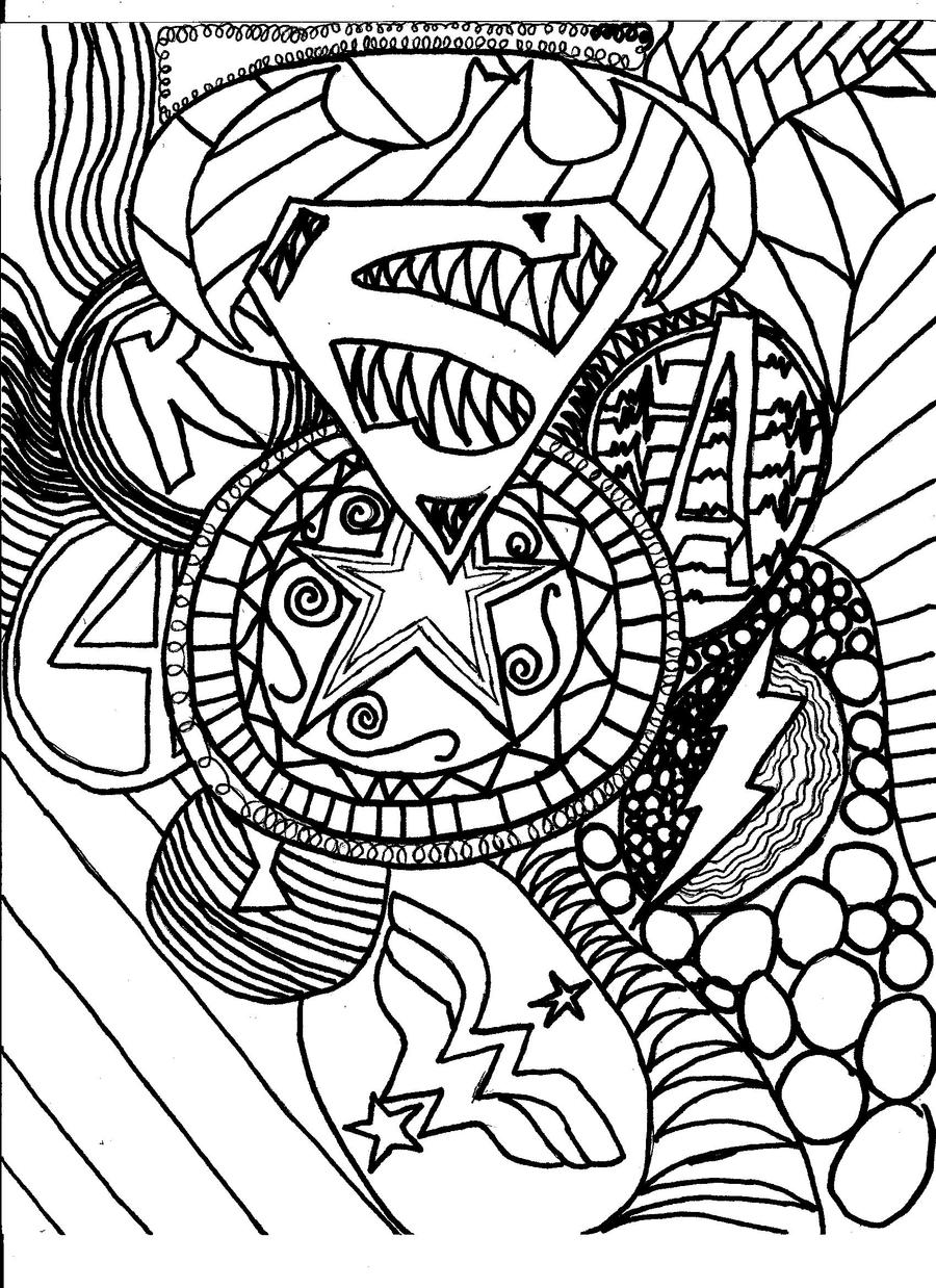 free collage coloring pages - photo#25