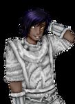 Vampirate In Fluffy White Pajamas