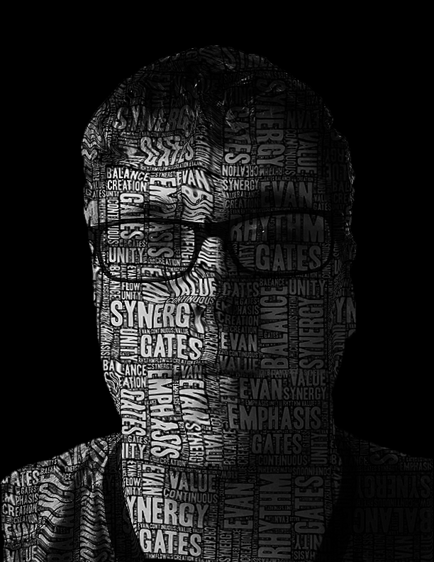 typography self portrait by etgates on deviantart