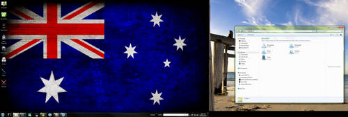 Windows 7 Down Under by madcat101
