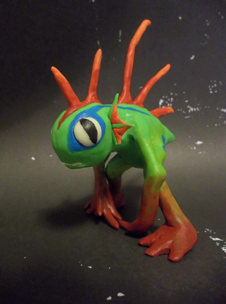 Murloc BABY by reptiviteknight