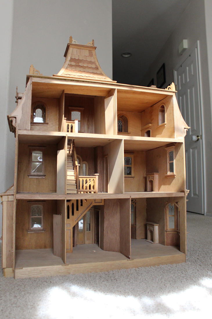 Beacon Hill Doll House Completed Interior 02 by dinobatfan