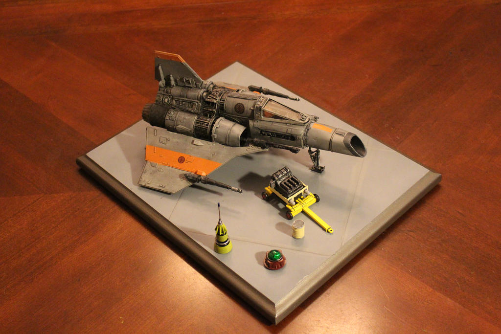 Mk1 Colonial Fighter Completed by dinobatfan