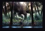 Jurassic World 'nostalgia' fan art