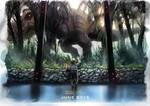 Jurassic World 'nostalgia' fan art - alternative