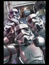 Trooper Selfie - Retro Alternative by WEVART