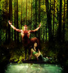 Cernunnos and the Stag Queen