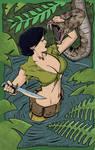 Alina Aguilar VS Snake