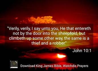 John 10:1 by crossmaximus